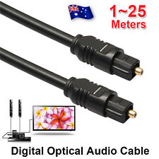 1-25M Digital Fiber Optical Optic Audio SPDIF MD DVD TosLink Cable Lead Cord