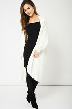 CREAM BOYFRIEND STYLE CABLE KNIT CARDIGAN