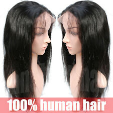 Top Sale Long Hair Full Lace Wig Curly Straight Wave Black Brazilian Virgin Hair