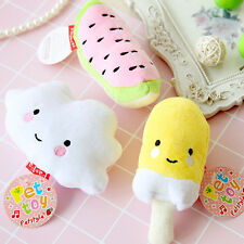 Pet Dog Toy Pet Puppy Chew Squeaker Squeaky Sound Toys Ice Cream Fruit Clouds
