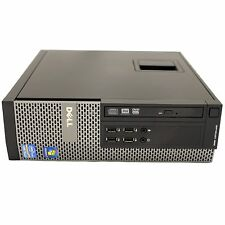 Dell OptiPlex 990 SFF Desktop 2nd Gen Quad i5 3.10GHz 8GB 512GB SSD DVD-RW W10P