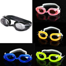 Nose Clip + Ear Plug + Anti fog UV Swimming Swim Goggle Adjustable Glasses