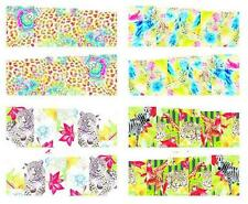 Leopard Zebra Abstract Nail Art Sticker Decal Decoration Manicure Water Transfer