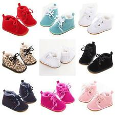 Baby Boy Girl Winter Warm Boots Toddler Kid Soft Crib Shoes Boots Sneakers 0-18M