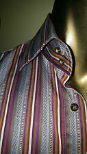 ETRO MILANO Made in Italy great stripes SHIRT - worn once - Size 40