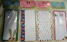 New Magnetic List Pads - Easter Themed - 4 Different Styles - U CHOOSE