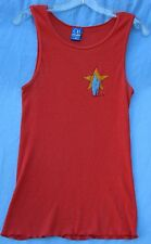 Vintage men's OP U.S.A. made 50/50 cotton/polyester ribbed tank top size XL