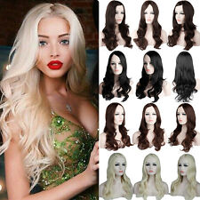 Best Synthetic Hair Wig Long Straight Curly Full Head Wigs Heat Resistant Hair P