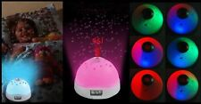Hot Starry Digital Magic LED Projection Night Light Color Changing BHXMP