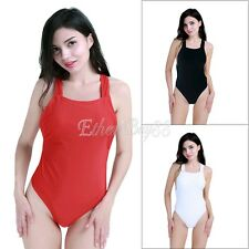 Sexy Women's One Piece Swimsuit Swimwear Bathing Monokini Push Up Padded Bikini