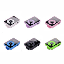 Mirror Fashion Support Up To 1--16GB Music Player SD TF Memory Card Clip MP3