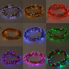20-200LED Solar / Battery Powered Outdoor Xmas LED Fairy Lights String Party MP
