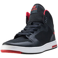 Supra Vaider 2.0 Mens Trainers Black Red New Shoes