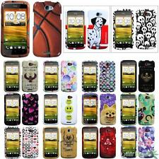 For T-Mobile HTC One S Phone Image Snap-on Hard Protect Case Cover