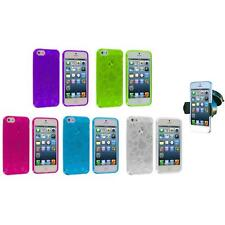 Dog Paw Puppy TPU Rubber Case Cover Accessory+Windshield Mount for iPhone 5 5S