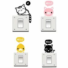 Removable Wall Light Switch Skin Cover Sticker Home Decal Vinyl Cartoon Hot