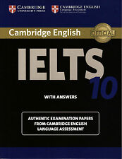 Cambridge IELTS 10 ESOL Official Examination Papers with Answers @New@BOOK ONLY!