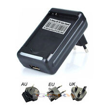 USB AC Wall Charger For T-Mobile Samsung Galaxy S2 T989 AT&T i727 Battery