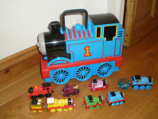 THOMAS THE TANK ENGINE STORAGE CASE WITH LOCOS