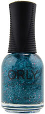 ORLY NAIL POLISH 20831 STEAL THE SPOTLIGHT 18ml Teal micro & Pink hex Glitter