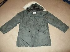 Military Extreme Cold Weather Parka Type N-3B Size Medium MIL-P-6279J Greenbrier