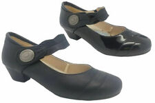 Ladies Shoes Step On Air Alba Black Patent or Smooth Heel Mary Jane Size 6-10