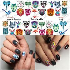 Nail Art Water Transfers Decals Stickers Slider CATS Normal Size 5x7cm EU Seller