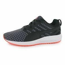 Puma Flare Running Shoes Womens Black/White Run Fitness Trainers Sneakers