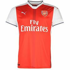 Puma Arsenal FC Home Jersey 2016 2017 Mens Red/White Football Soccer Top Shirt