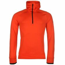 adidas ClimaHeat ½ Zip Hoody Mens Orange Hoodie Sweatshirt Jacket Sportswear