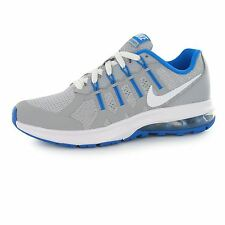 Nike Air Max Dynasty Trainers Junior Boys Grey/White/Blue Sports Shoes Sneakers