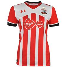 Under Armour Southampton FC Home Jersey 2016 2017 Womens Red Football Soccer Top