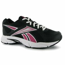 Reebok Transition Womens Running Shoes Trainers Blk/Pink/Silver Jogging Sneakers