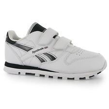 Reebok Classic CTM Tech 2V Trainers Juniors Wht/Blk/Silver Sports Shoes Sneakers