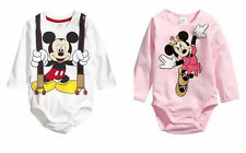 Infant Baby Girl Boy Long Sleeve Newborn Bodysuit Playsuit Romper Clothes 0-9M