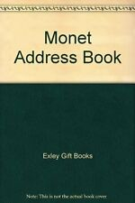 Monet Address Book By Exley Gift Books