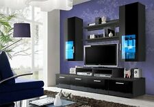 Entertainment Wall System Beginnings Tv Stand Center Furniture Home  Storage New