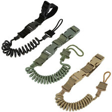 HOT Heavy Duty Tactical Pistol Lanyard Airsoft Quick Release Secure Pistol Sling