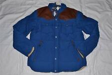 AUTHENTIC PENFIELD MENS STAPLETON SIZE M MEDIUM BLUE WATER RESISTANT DOWN JACKET