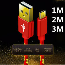 2A Fast Charging Micro USB Data Sync High Speed Charger Cable Cord Universal