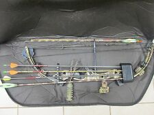 Buckmasters BTR Compound Bow and Arrows