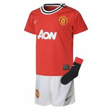 Nike Manchester United Home Kit 2011 3 Piece Infants Red/Wht/Blk Football Soccer
