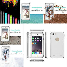 For iPhone 5 & 6s Plus Waterproof Shockproof Dust Snow Proof Durable Case Cover