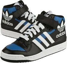 Mens adidas Originals Forum Mid RS XL Trainers Blue Leather UK Sizes 9.5 - 11
