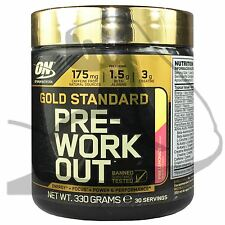 ON Optimum Nutriton Gold Standard Pre-Workout 330g 30 Servings All Flavours