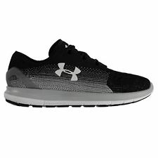 Under Armour Speedform SlingRide Running Shoes Mens Blk/Gry Trainers Sneakers