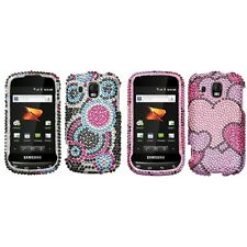 For Samsung Transform Ultra M930 Diamond Diamante Bling Rhinestone Case Cover