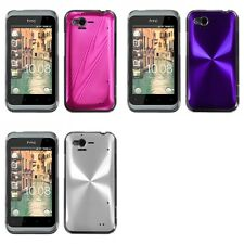 For HTC Rhyme / Bliss Aluminum Armor Cosmo Slim Hard Case Phone Cover