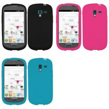 For Samsung Galaxy Exhibit T599 Silicone Skin Rubber Soft Case Phone Cover
