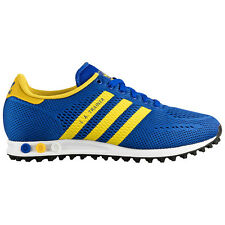 adidas Originals LA Trainer EM Blue Men's Trainers Shoes Mesh NEW